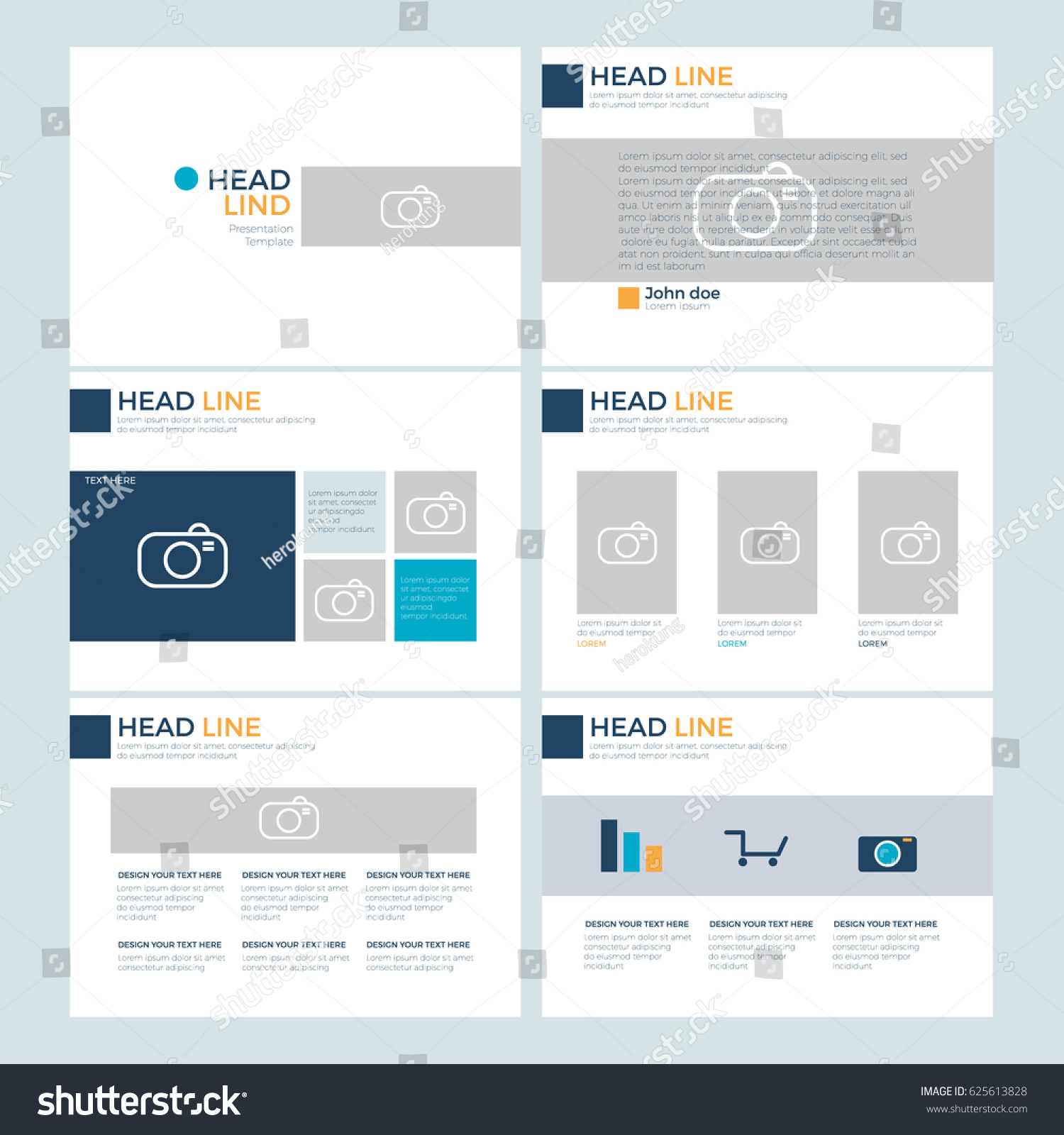flyer powerpoint template