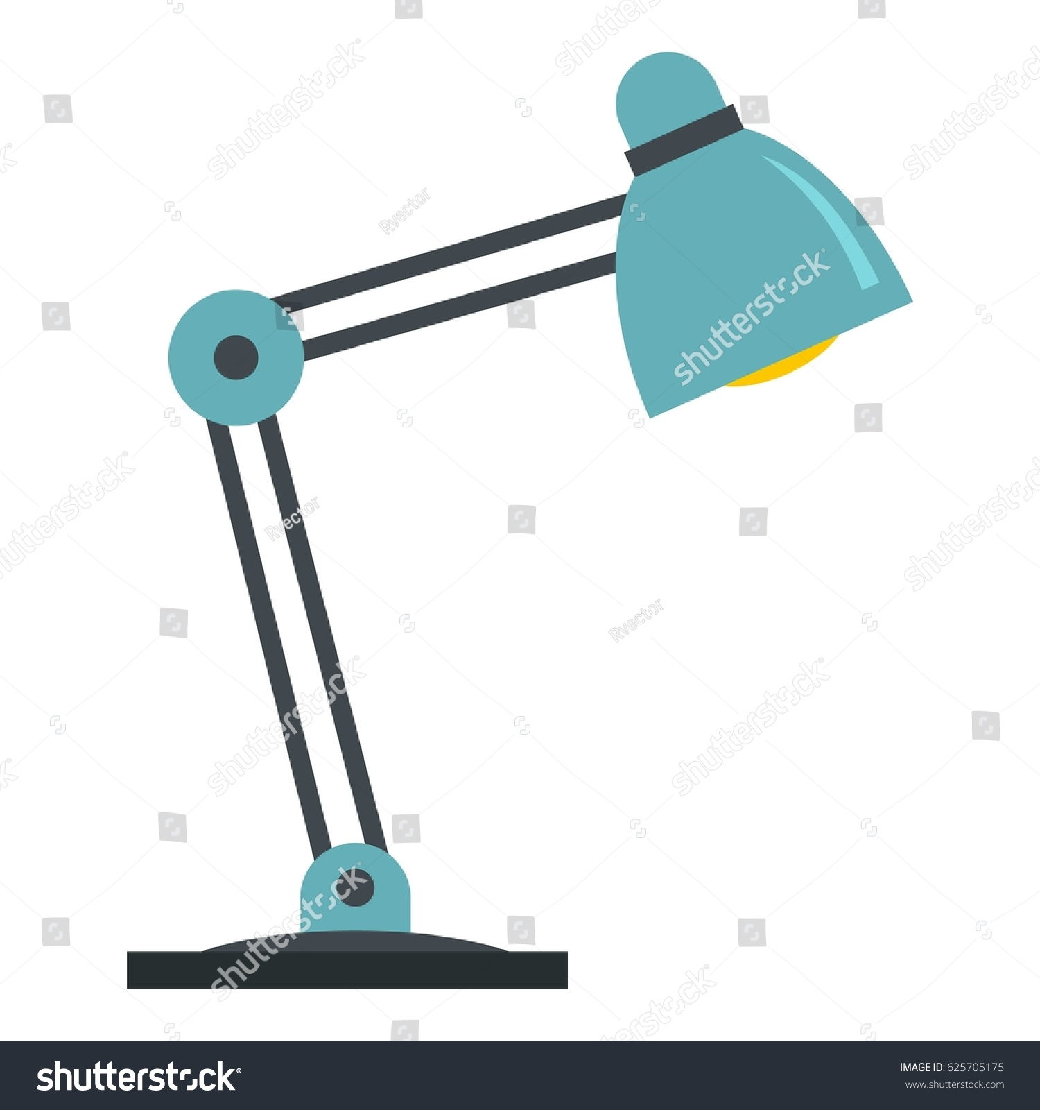 Office table lamp icon flat illustration stock vector 625705175 office table lamp icon flat illustration of office table lamp vector icon isolated on white geotapseo Gallery