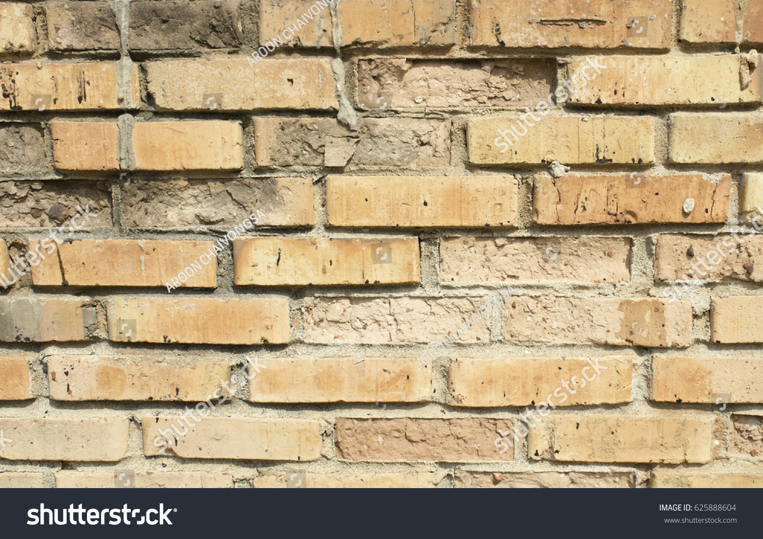 Background of red brick wall pattern texture. | EZ Canvas