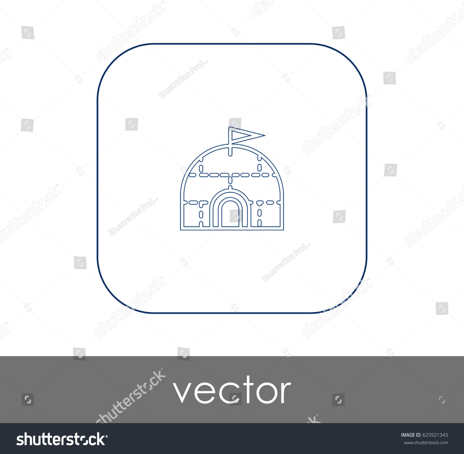 Igloo icon stock vector 625921343 shutterstock igloo icon pooptronica