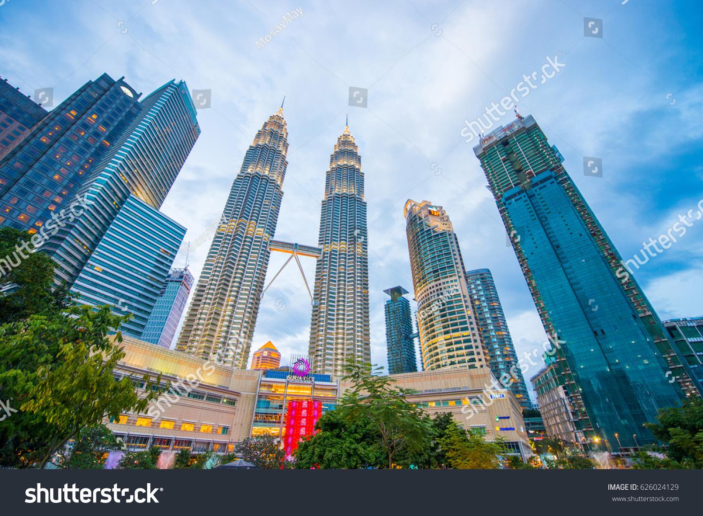 Malaysia 12 febuary 2017 petronas tower stock photo 626024129 malaysia 12 febuary 2017 petronas tower symbol of kuala lumpur malaysia buycottarizona Gallery