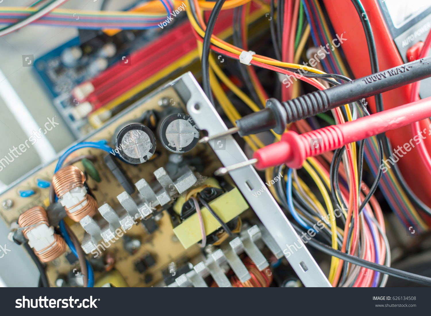 Comfortable Computer Psu Repair Images - Electrical and Wiring ...