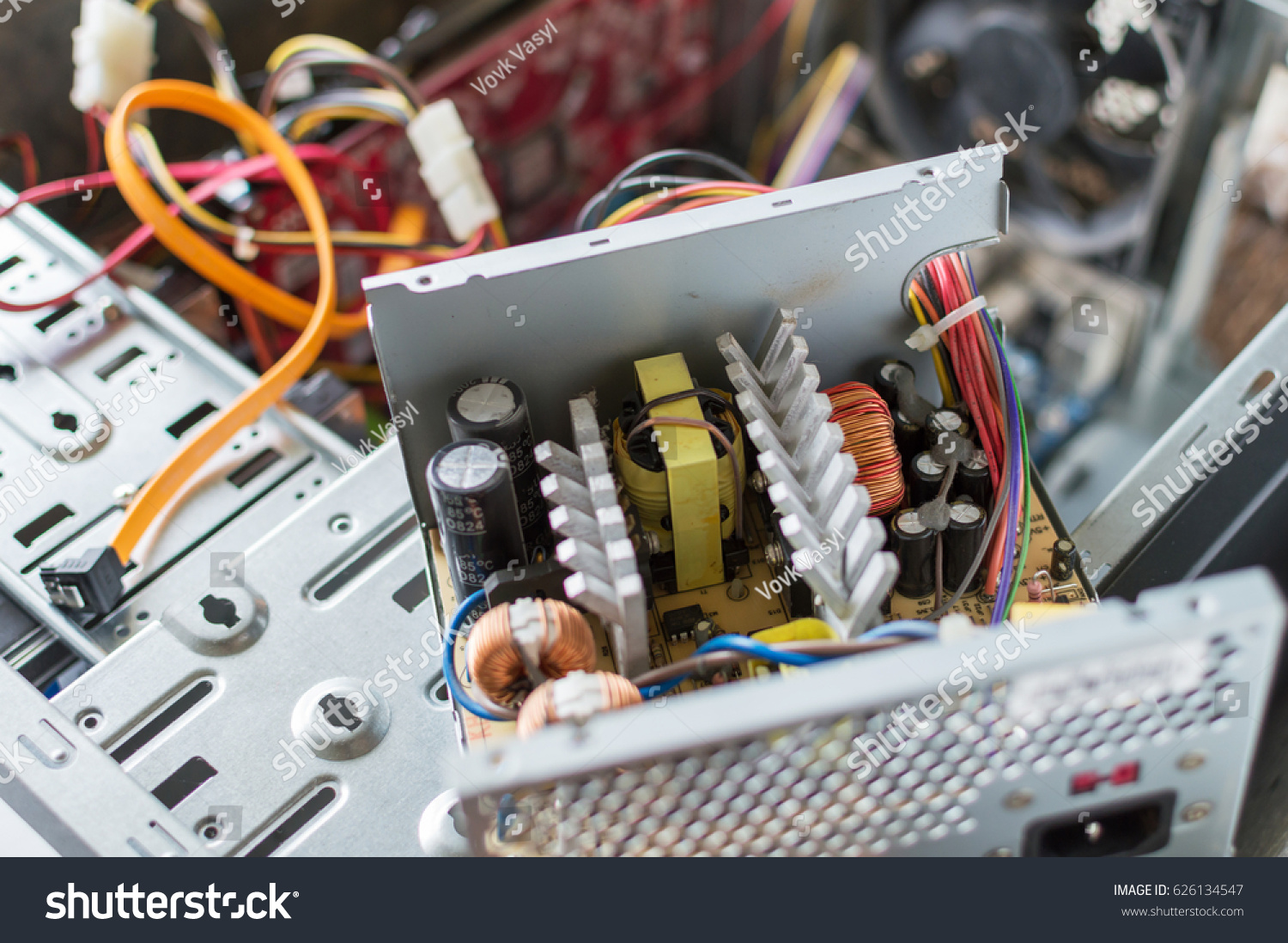Fancy Pc Power Supply Repair Sketch - Electrical and Wiring Diagram ...