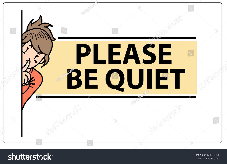 be quiet door sign  sc 1 st  Shutterstock & Be Quiet Door Sign Stock Vector 626141156 - Shutterstock pezcame.com