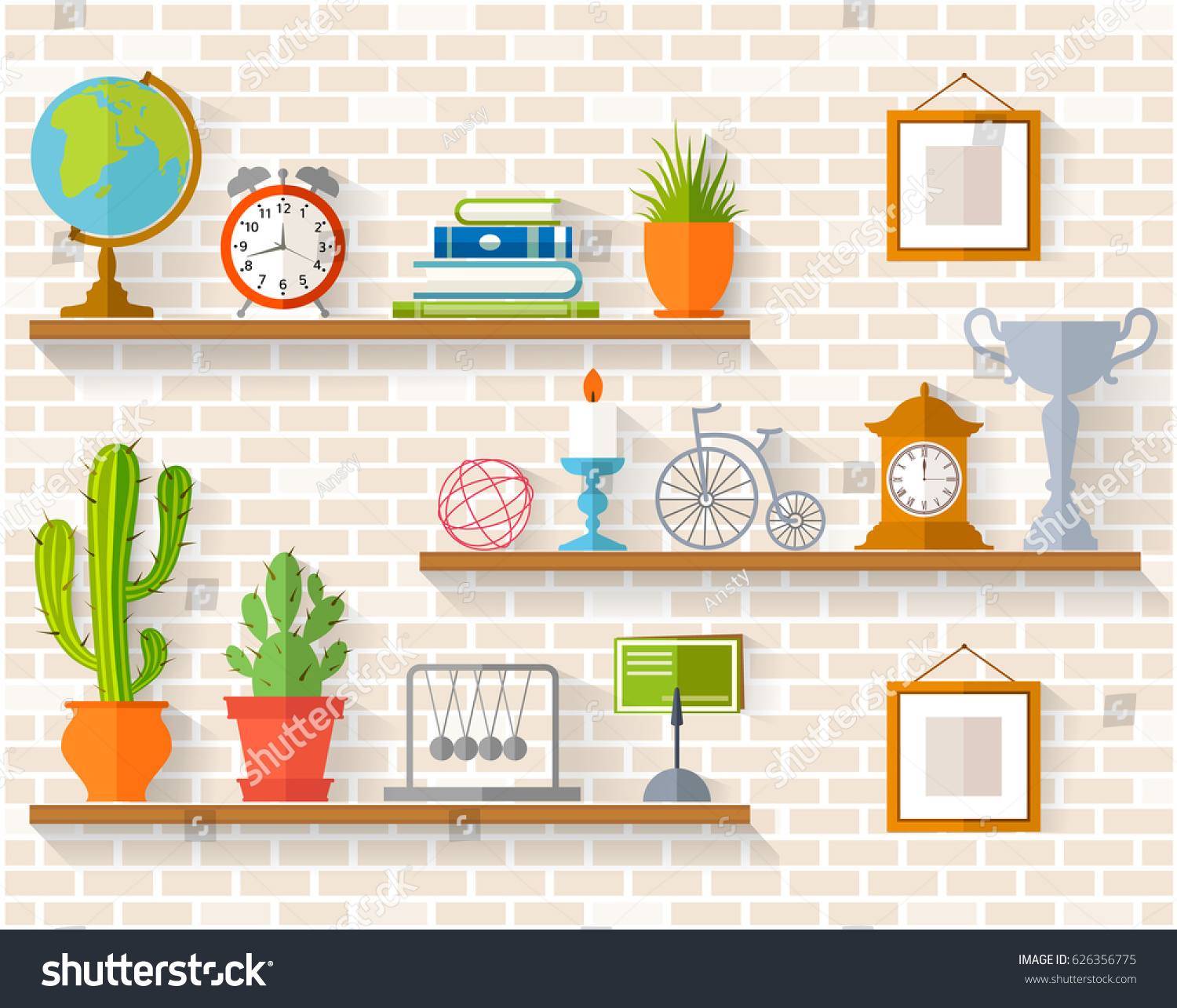 Home Interior Vector 28 Images Vintage Home Interior In Flat Design Vector Free Interior