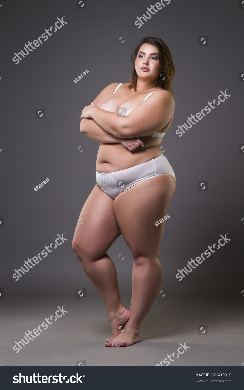 full body naked obese women