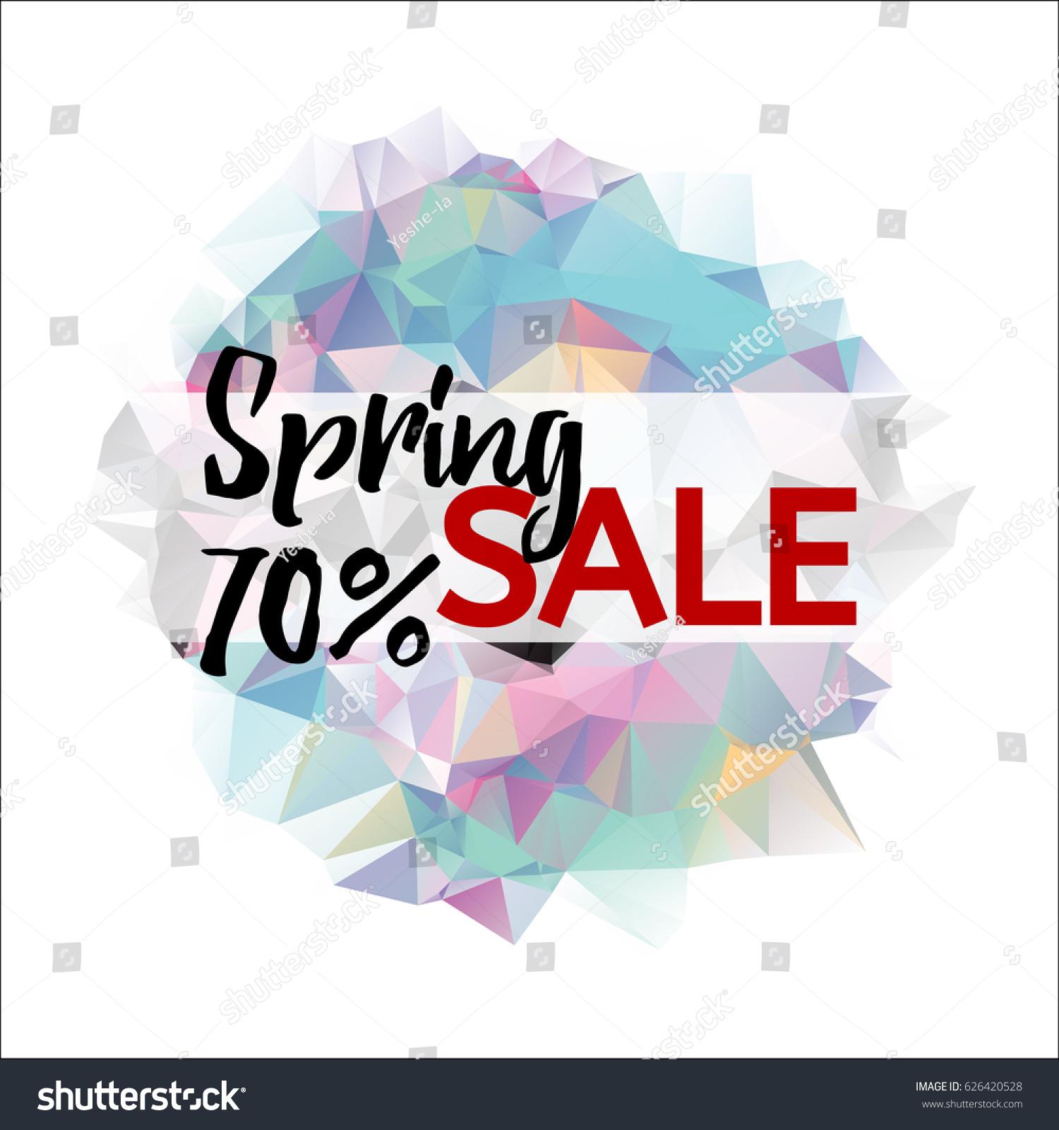 spring flyer background
