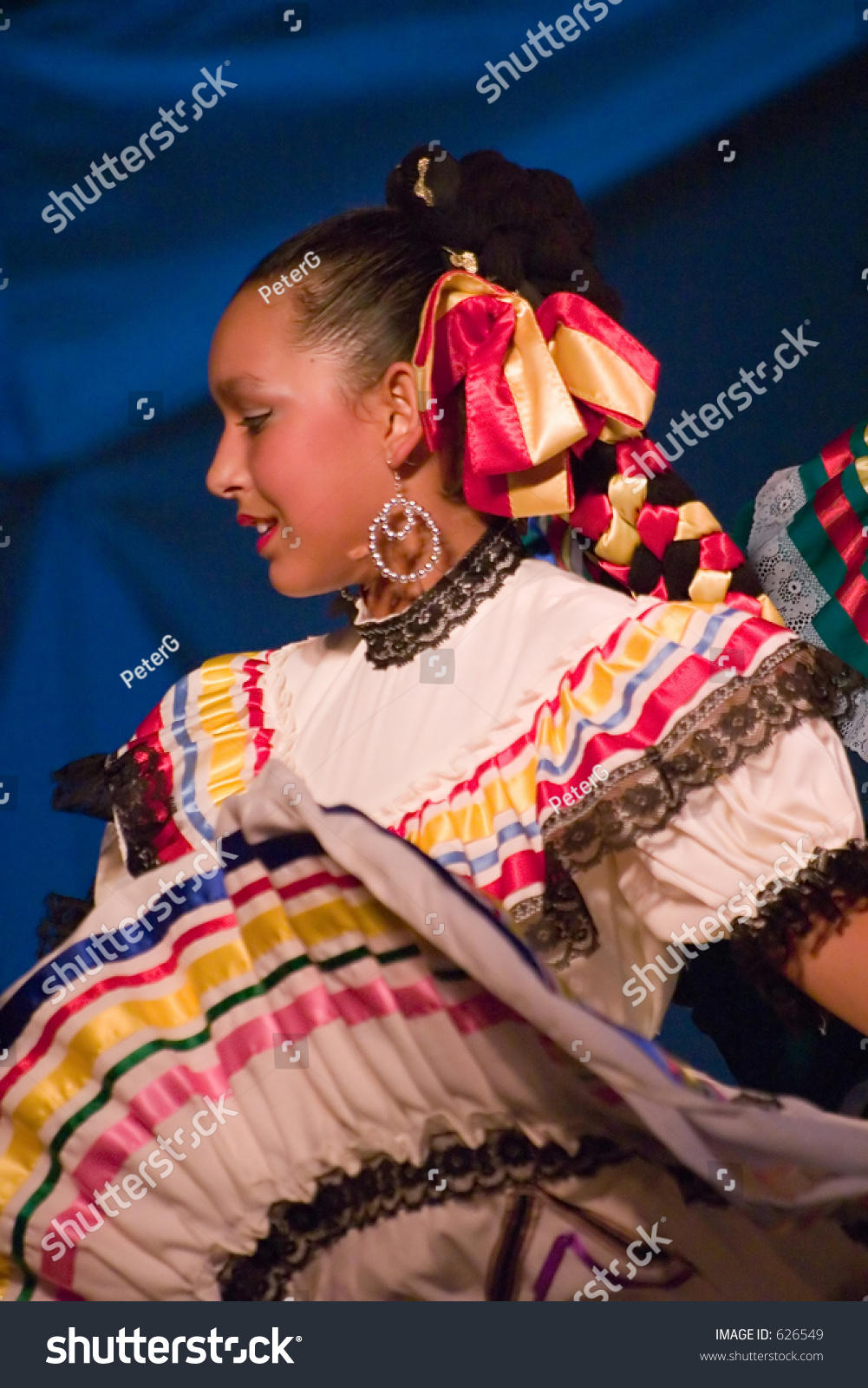 Spanish Dancer Soft Focus Stock Photo 626549 Shutterstock