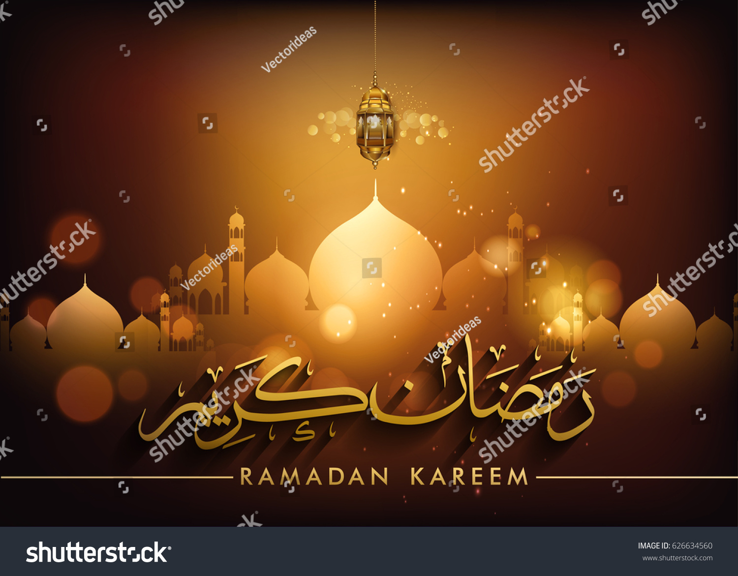 Ramadan greetings background arabic calligraphy elegant stock vector ramadan greetings background with arabic calligraphy elegant element for design template place for text kristyandbryce Images
