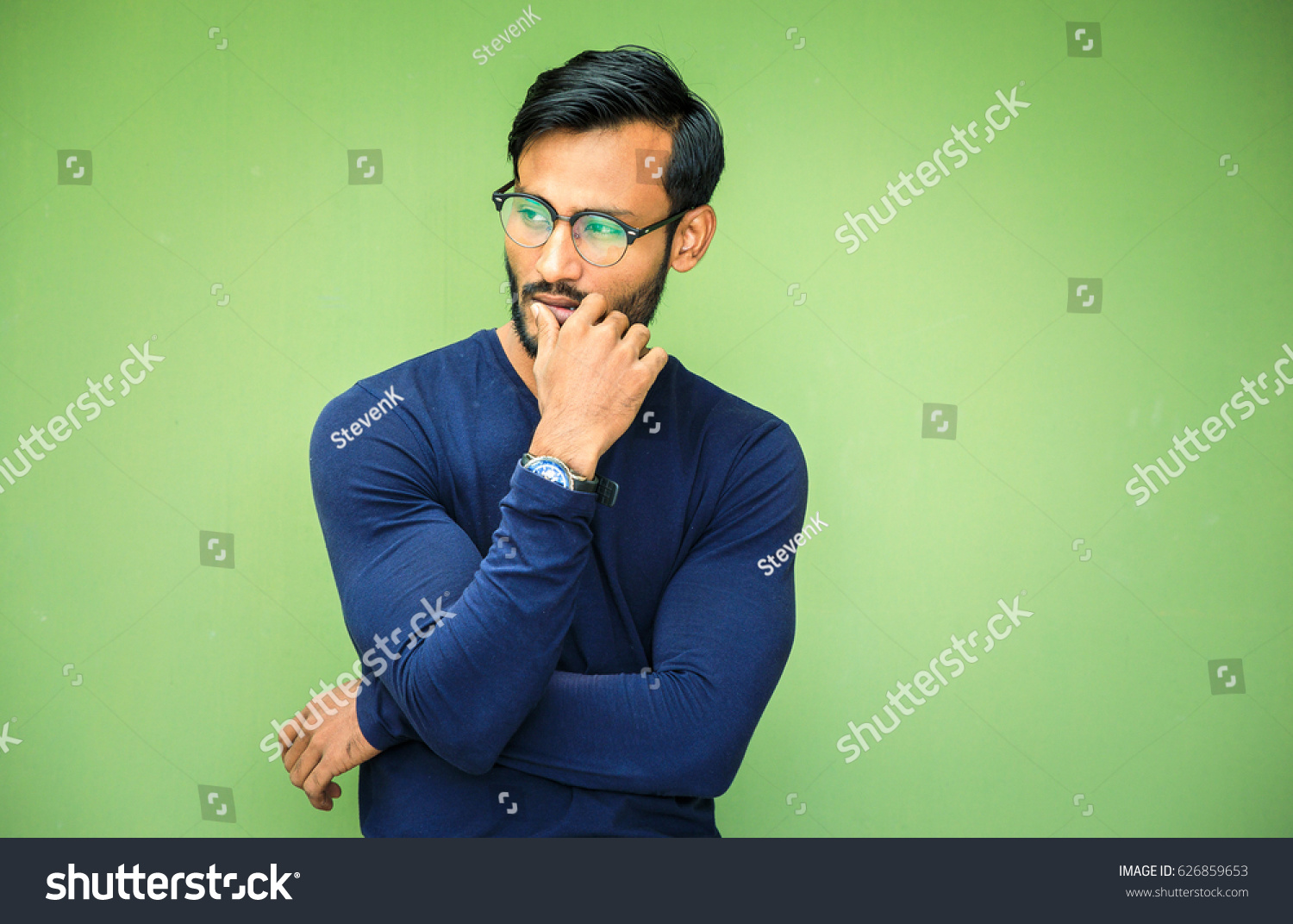 Good Looking Indian Muscled Fit Male Stock Photo Edit Now