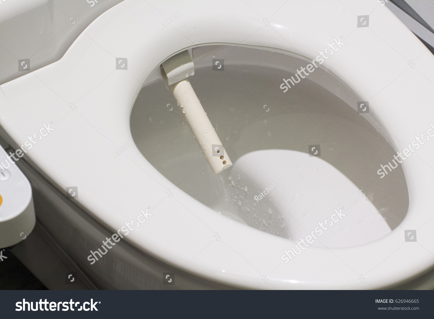 Toilet Electronic Seat Automatic Flush Japan Stock Photo (Edit Now ...