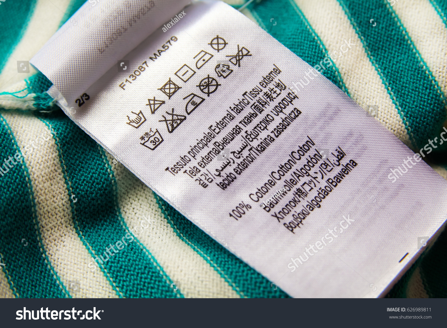 Clothing label laundry care instructions symbols stock for Space pants fabric
