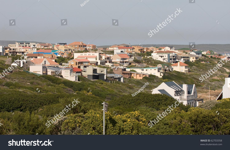 Gansbaai South Africa  City pictures : De Kelders, Gansbaai South Africa . Stock Photo 62703358 ...