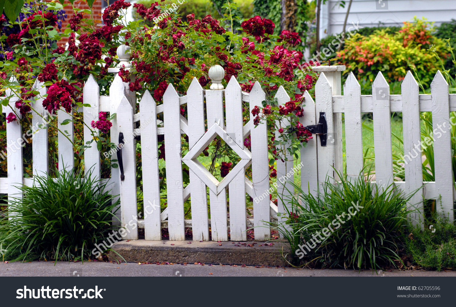 white garden gate pictures to pin on pinterest