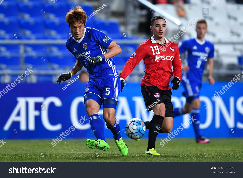 Park Yongwoo Blue Ulsan Hyundai FC Stock Photo (Royalty Free ...