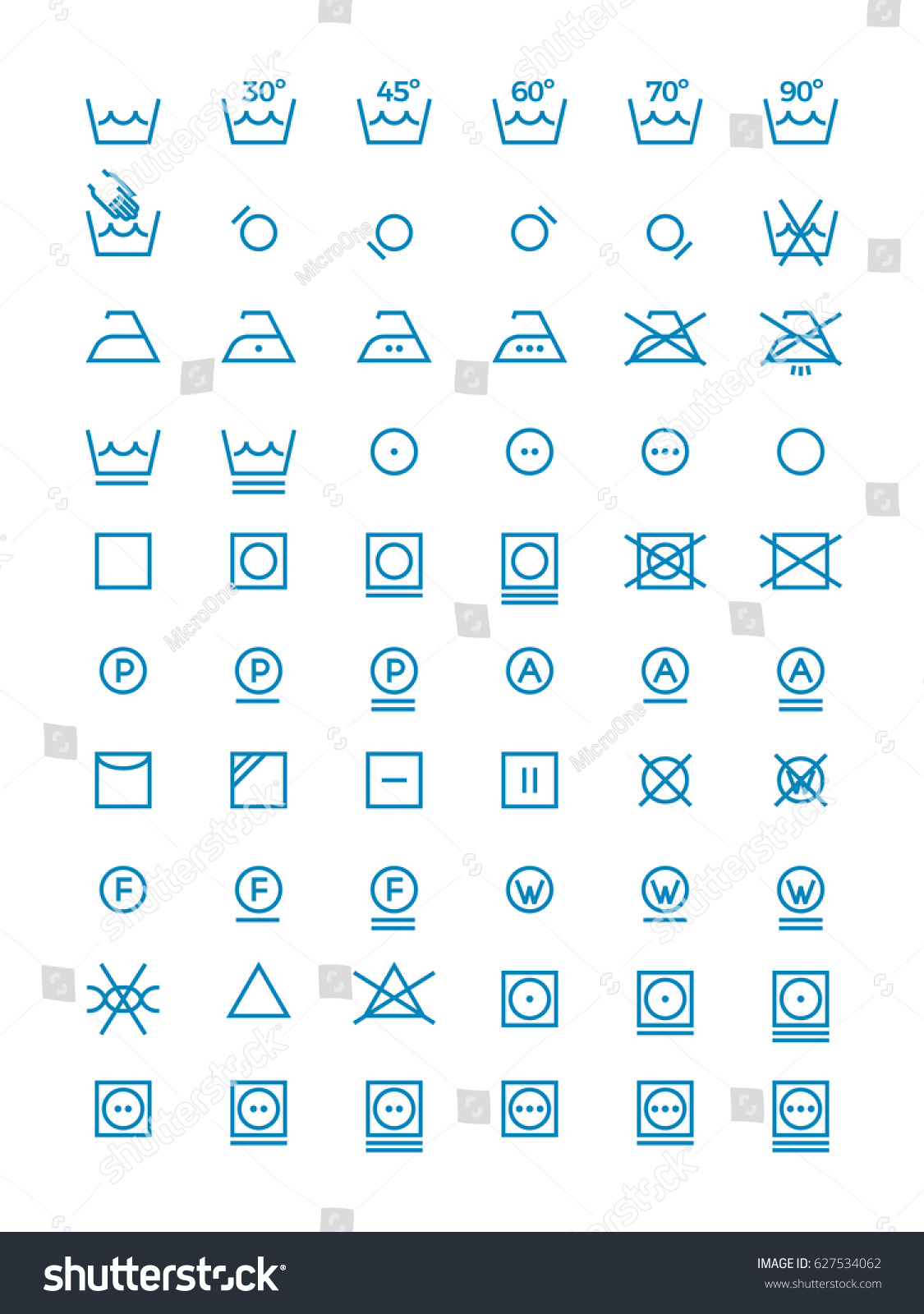 Drying symbols for laundry image collections symbol and sign ideas washing wringing drying ironing vector symbols stock vector washing and wringing drying and ironing vector symbols buycottarizona