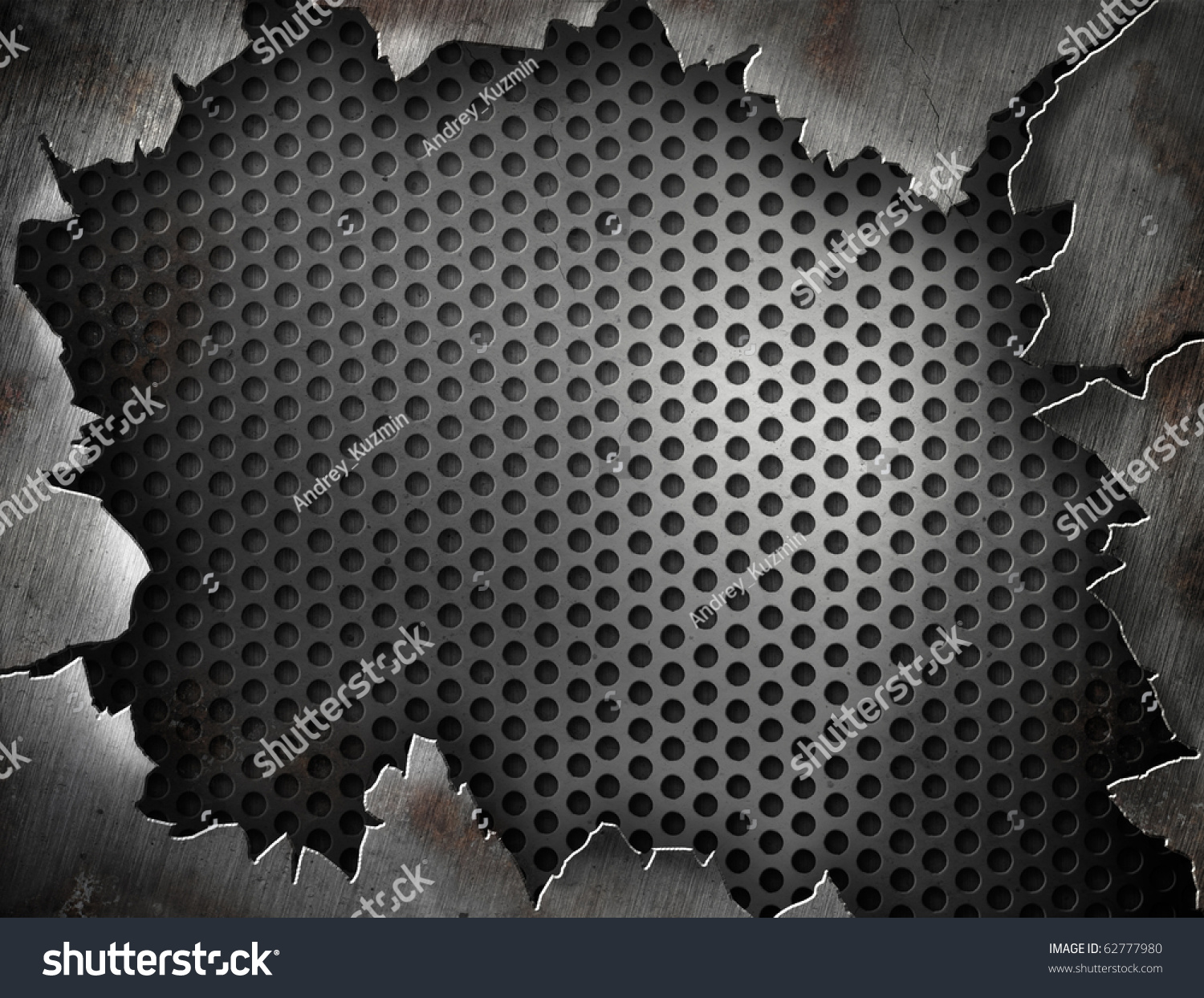 Grunge Crack Metal Background With Rivets U2014 Stock Photo Auto Diagrams Taco Wiring Ta0243s 2 Template Your Design