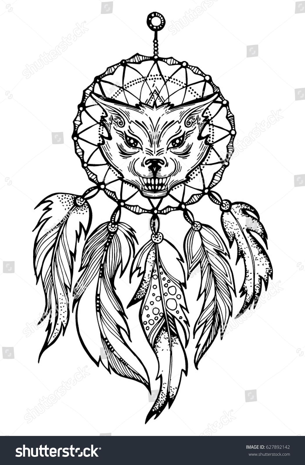 wild wolf symbol