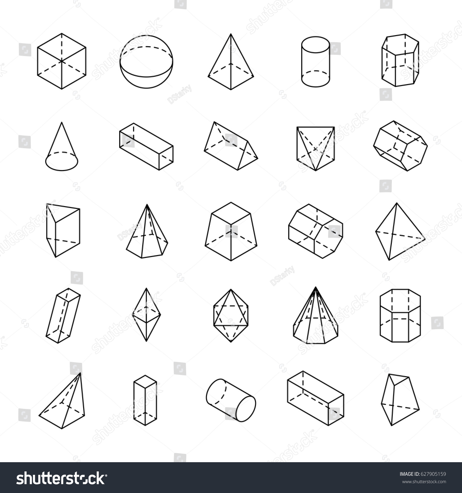 how to draw isometric shapes