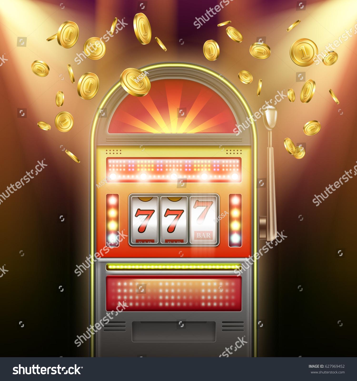 Slot Machine Falling Wheels