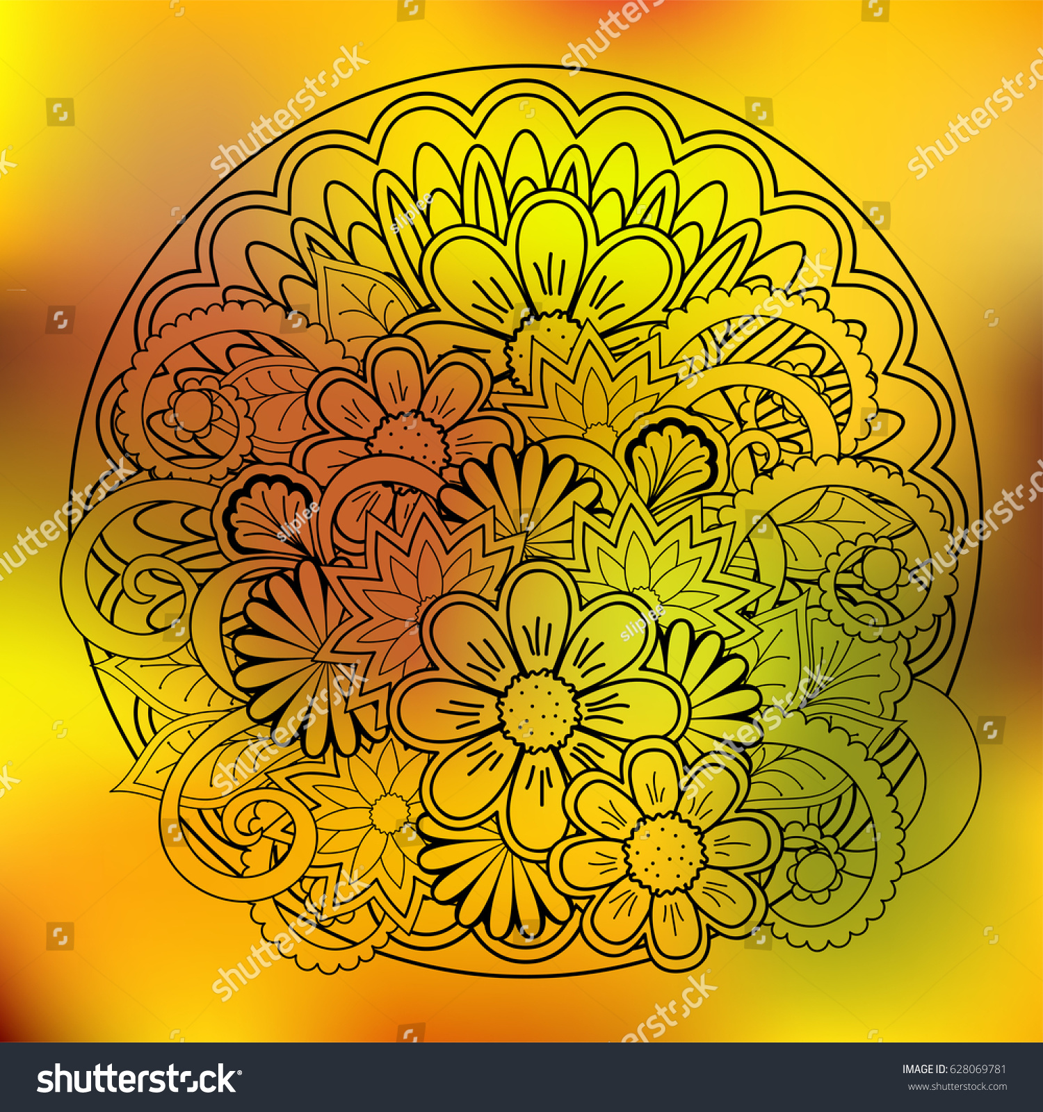 Lovely Doodle Art Wall Gallery - The Wall Art Decorations ...