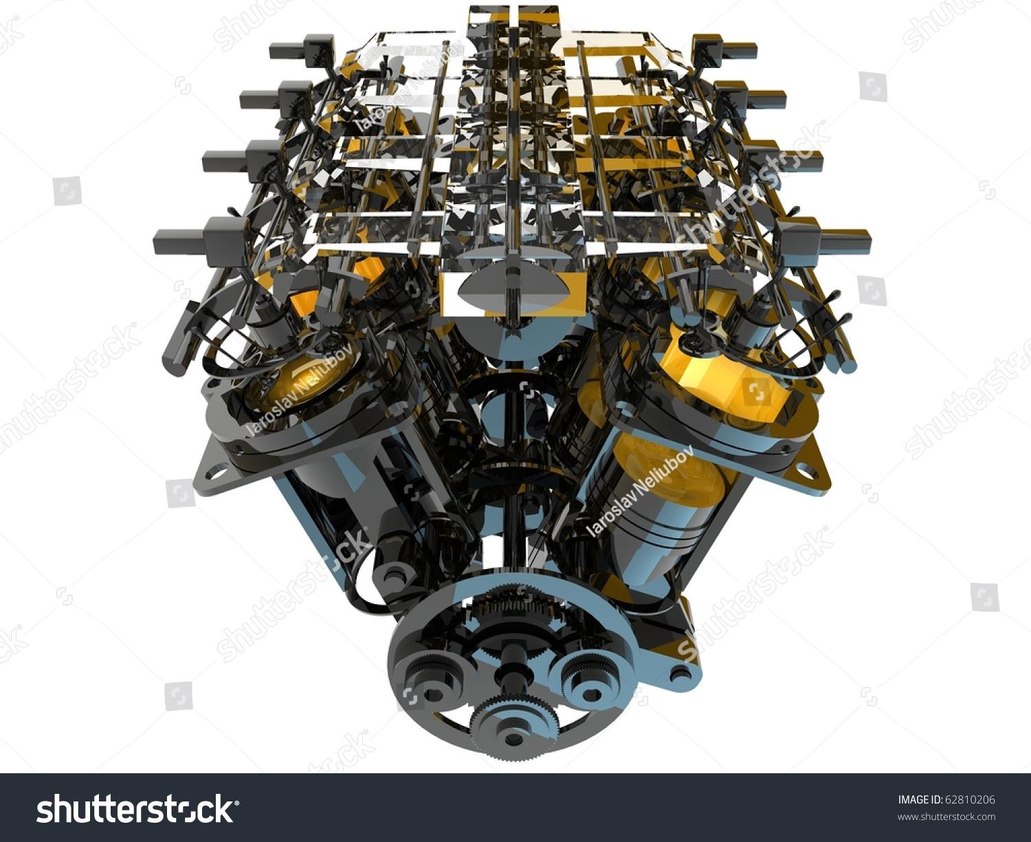 Stock Photo Internal Combustion Engine on Axis Camera Wiring Diagram