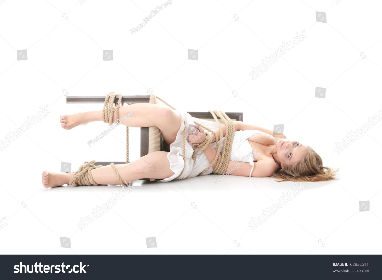Связанные веревкой блондинки фото 6 фотография