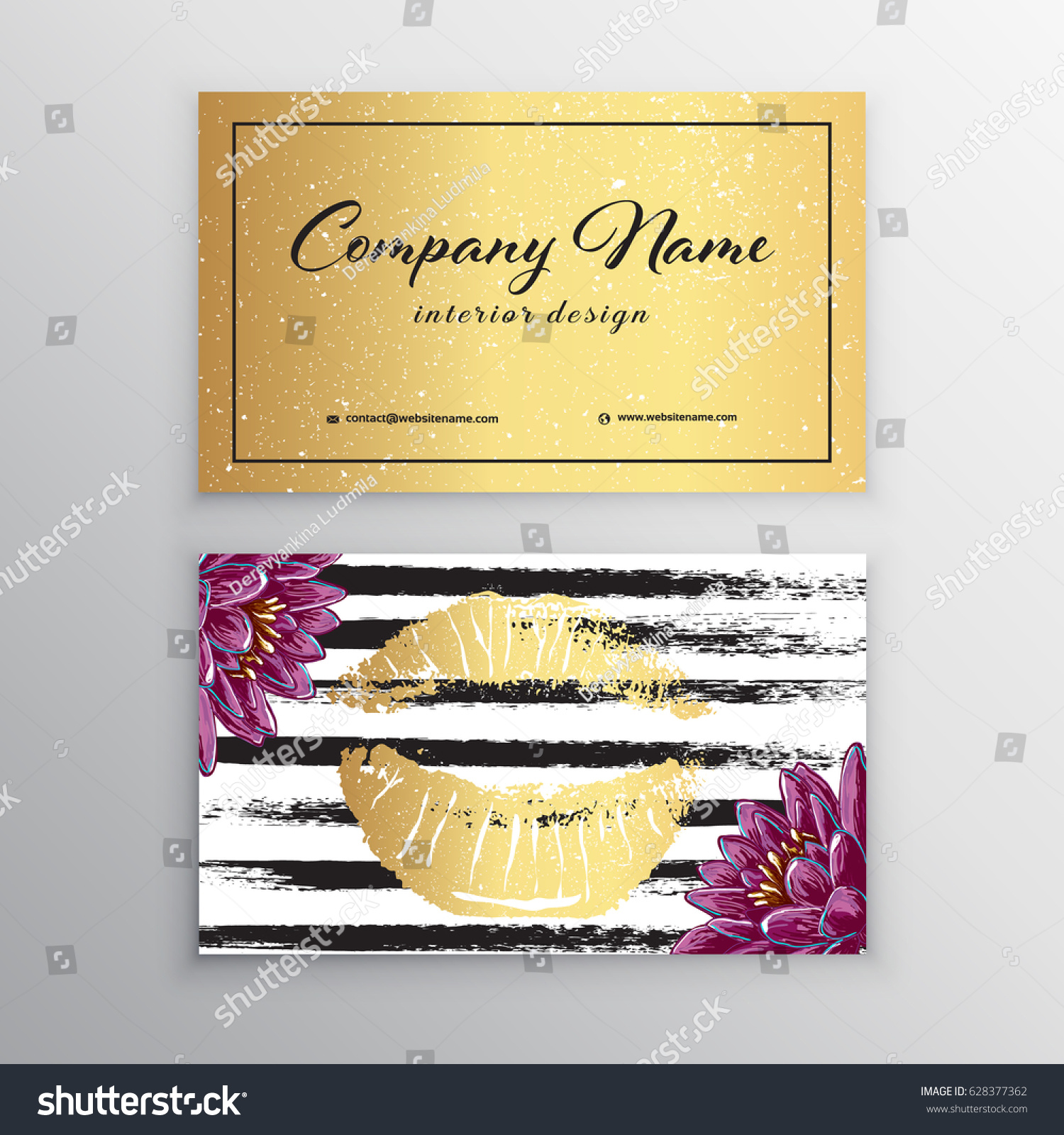 Makeup artist business card business cards stock vector 628377362 makeup artist business card business cards template with pink lips print design templates for alramifo Image collections