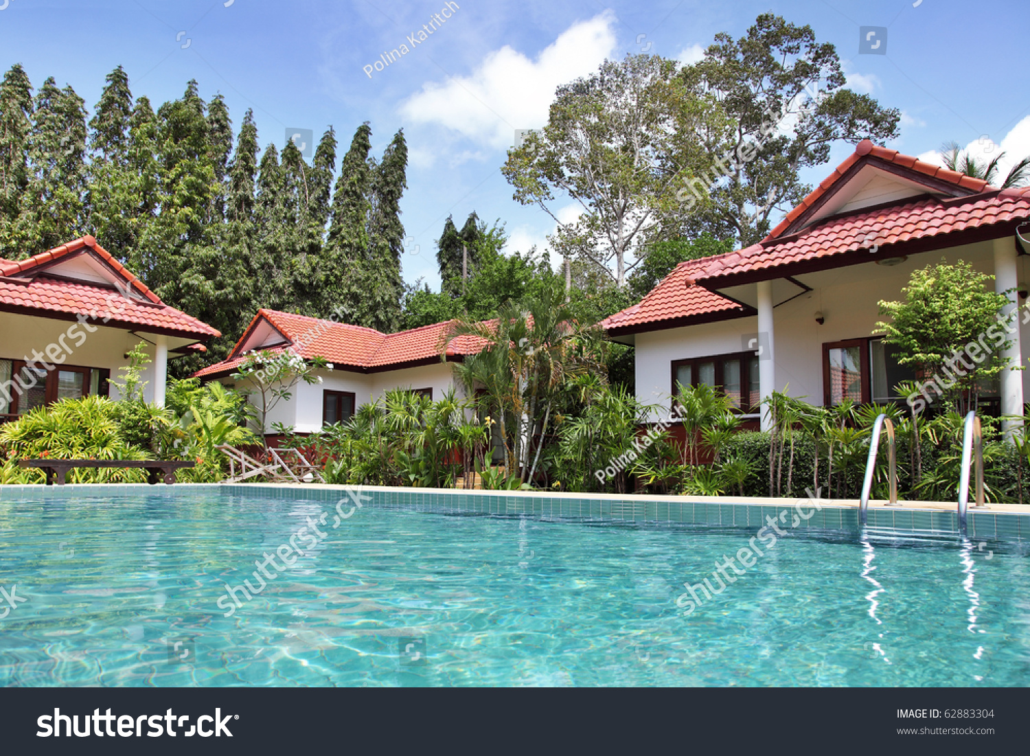 tropical houses with beautiful garden and pool preview save to a lightbox - Beautiful Garden Pictures Houses