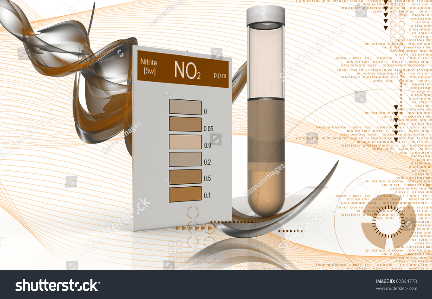 Digital illustration nitrite test colour background stock digital illustration of nitrite test in colour background buycottarizona