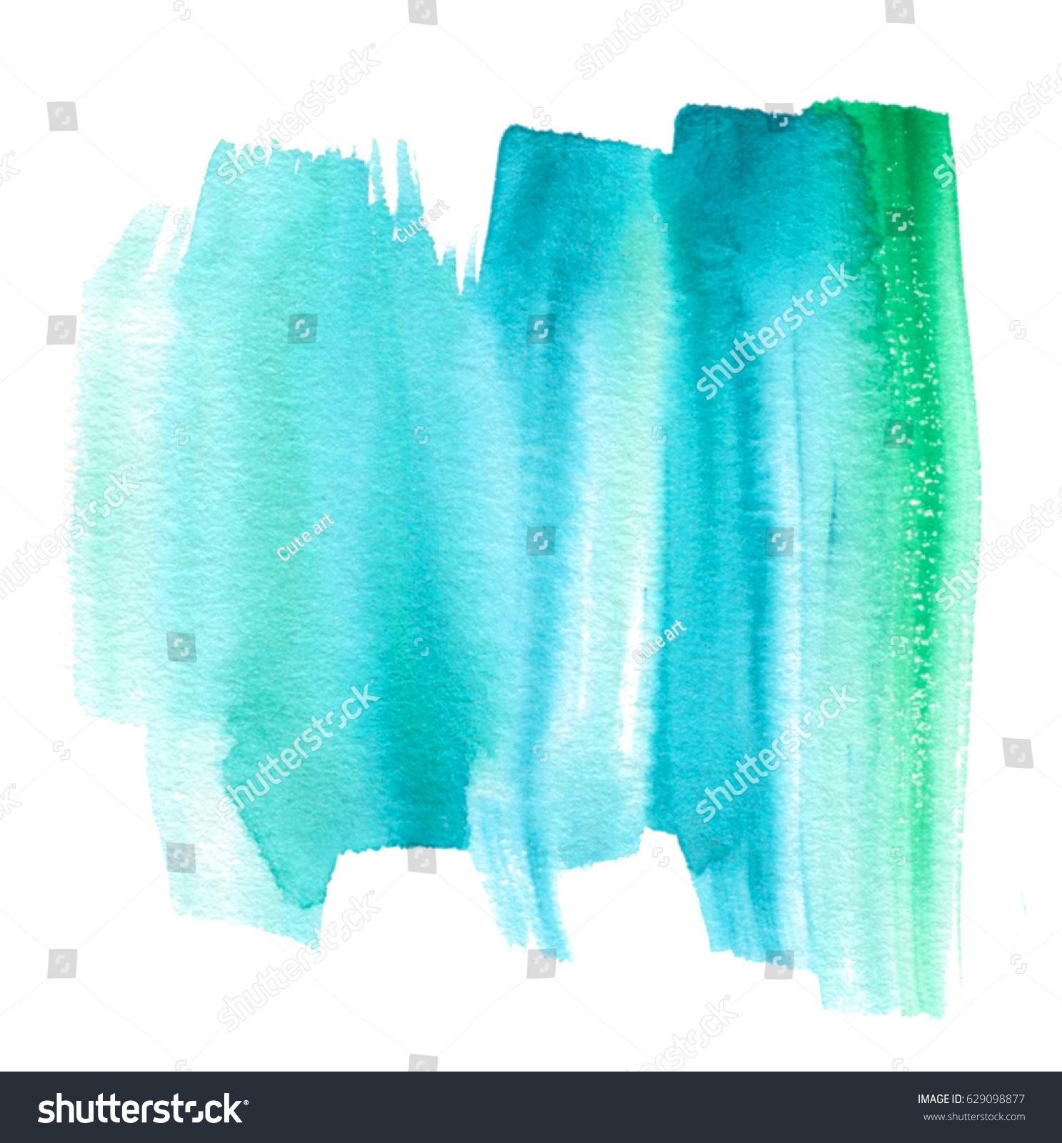 白い背景に水色の緑の青の色の手描きの線分 壁紙 テキストデザイン用