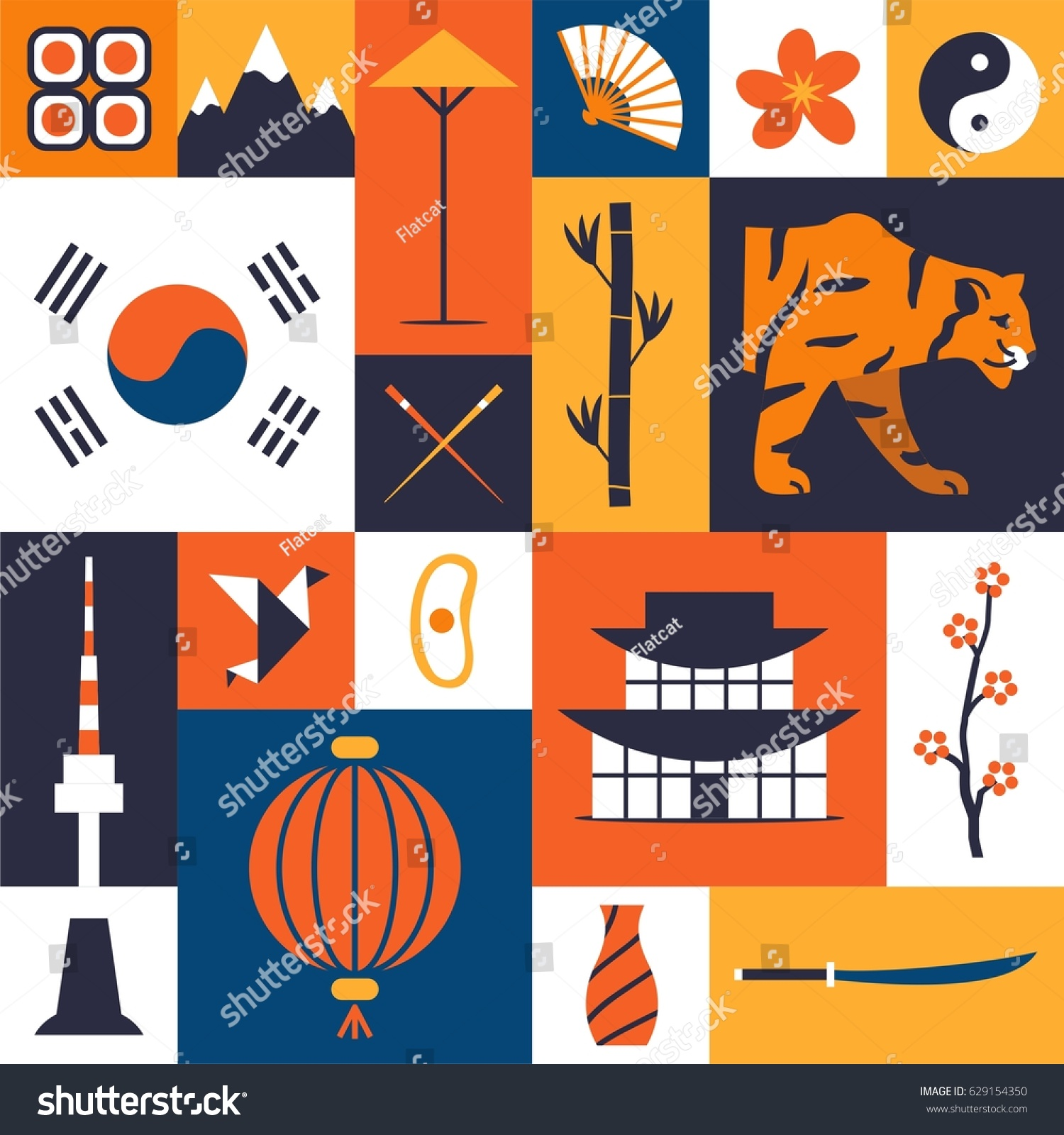 Korean Culture Symbols Image Collections Meaning Of This Symbol