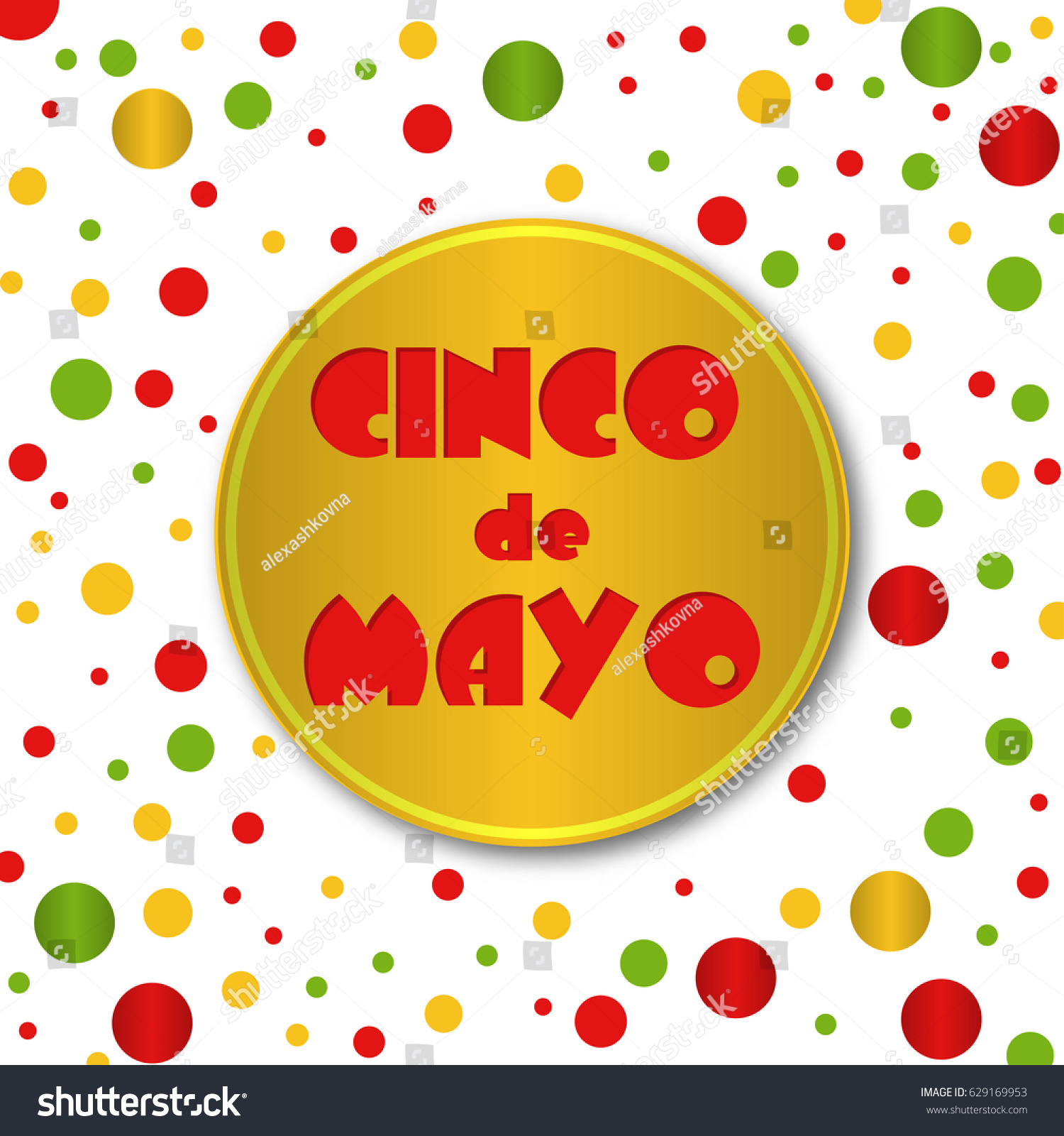 cinco de mayo 5th may poster stock vector 629169953 shutterstock