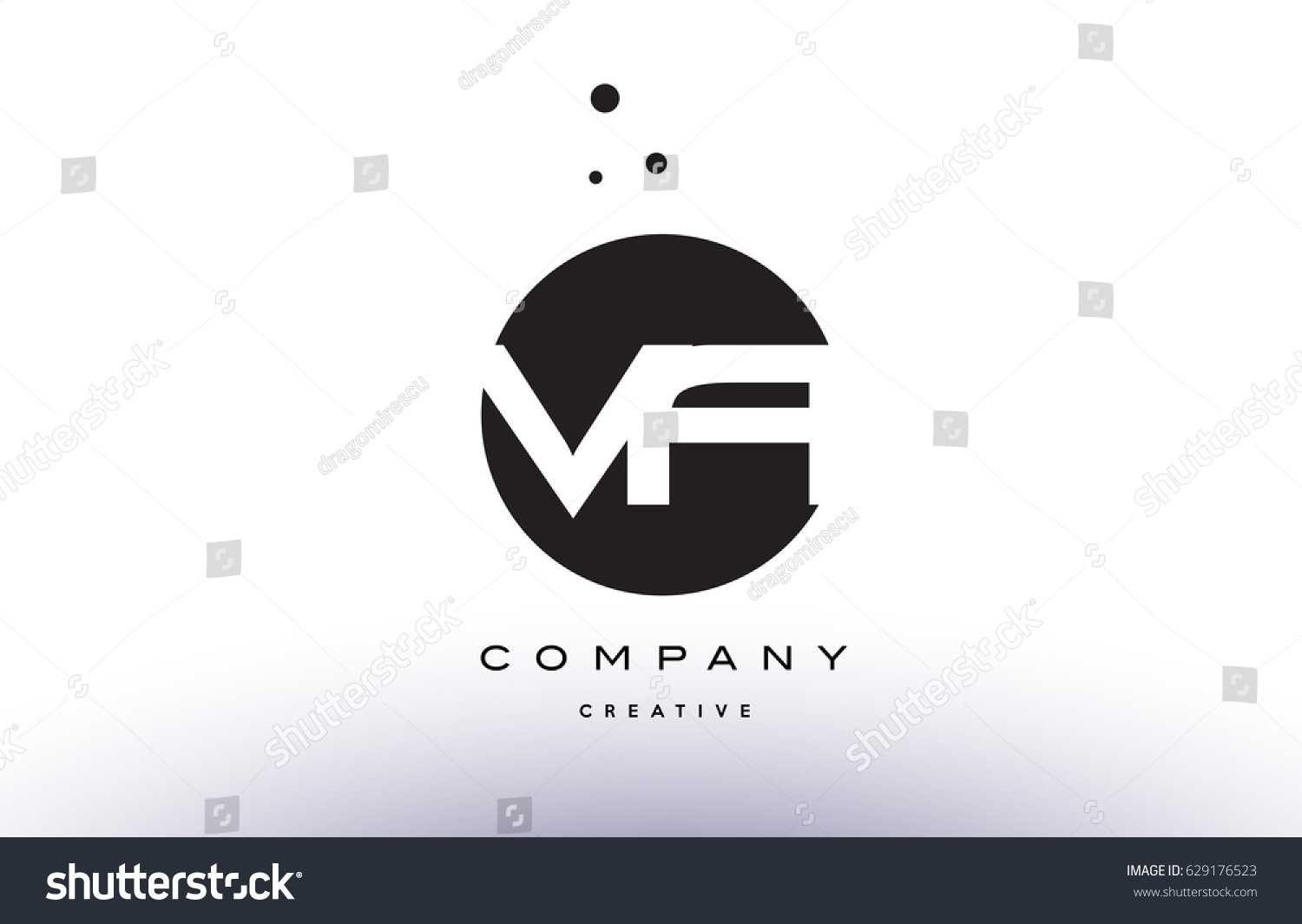 Va v alphabet company letter logo stock vector 629176523 shutterstock va v a alphabet company letter logo design vector icon template simple black white circle dot dots buycottarizona Image collections