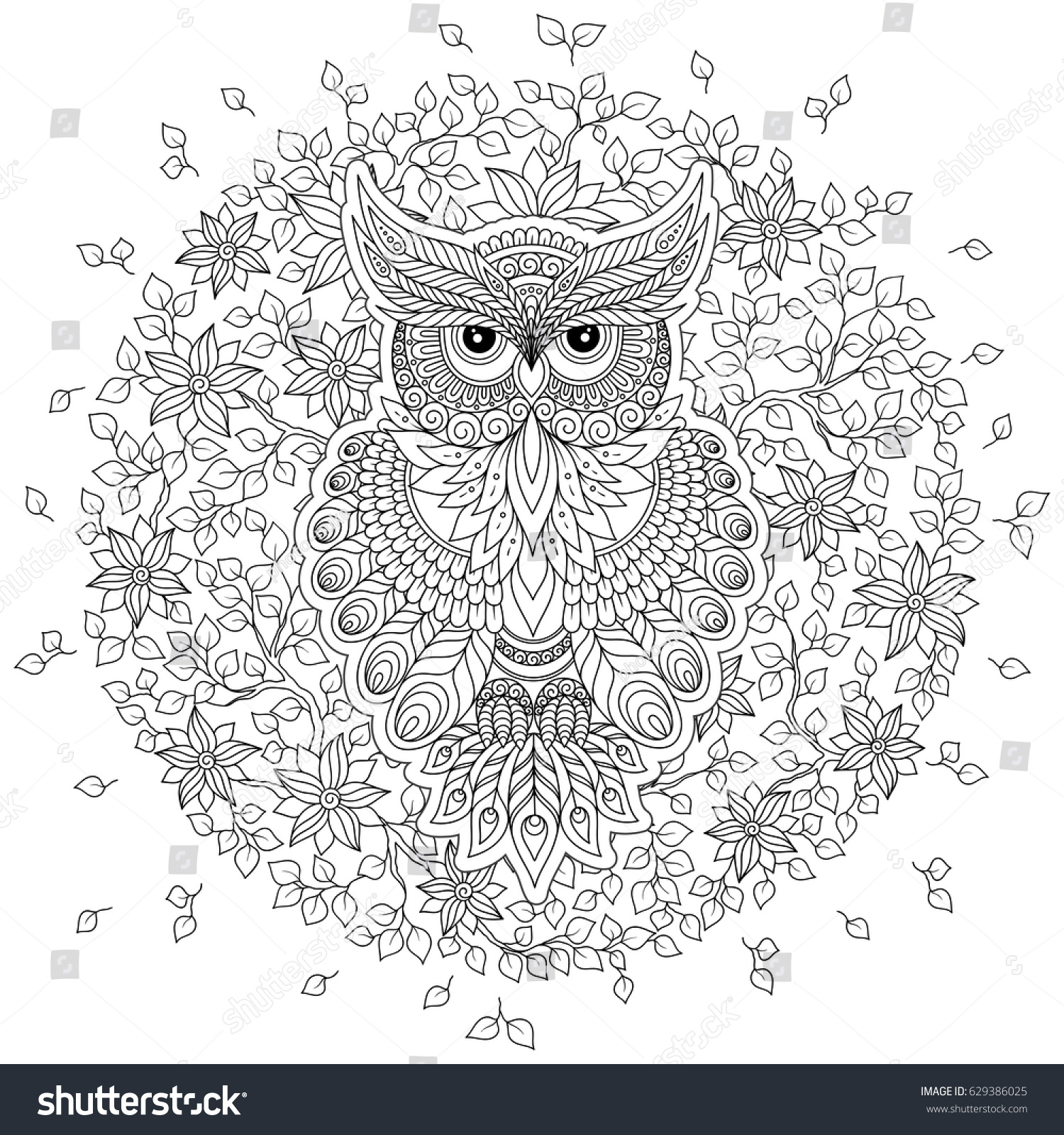 coloring book older children coloring stock vector 629386025