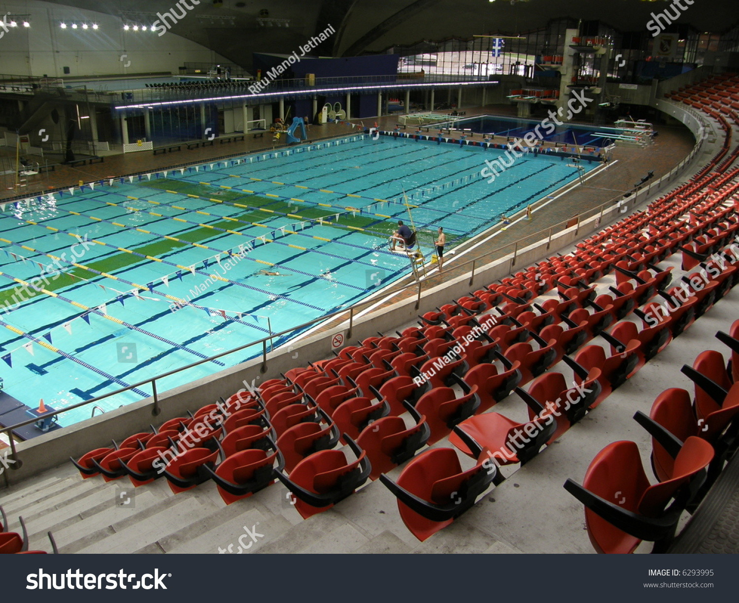 Swimming Pool At The Olympic Stadium In Montreal Quebec Canada Stock Photo 6293995 Shutterstock