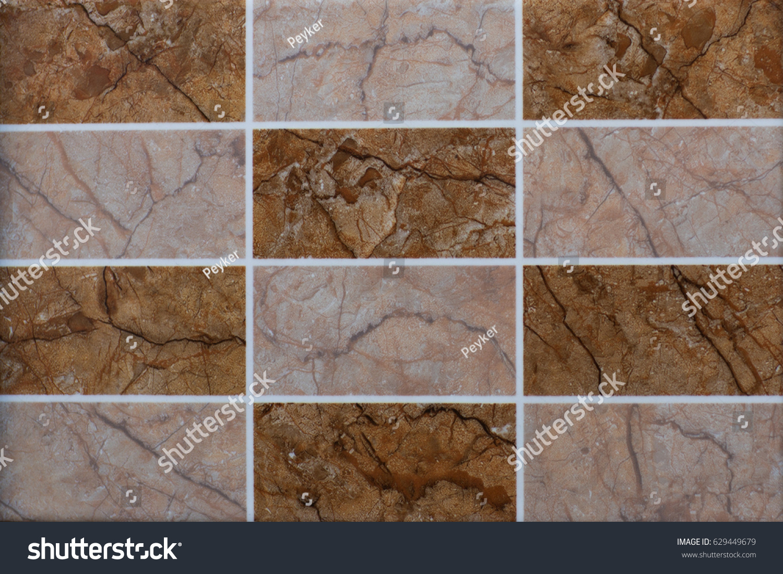 Abstract Pattern Geometric Shapes Ceramic Tile Mosaic Ez Canvas