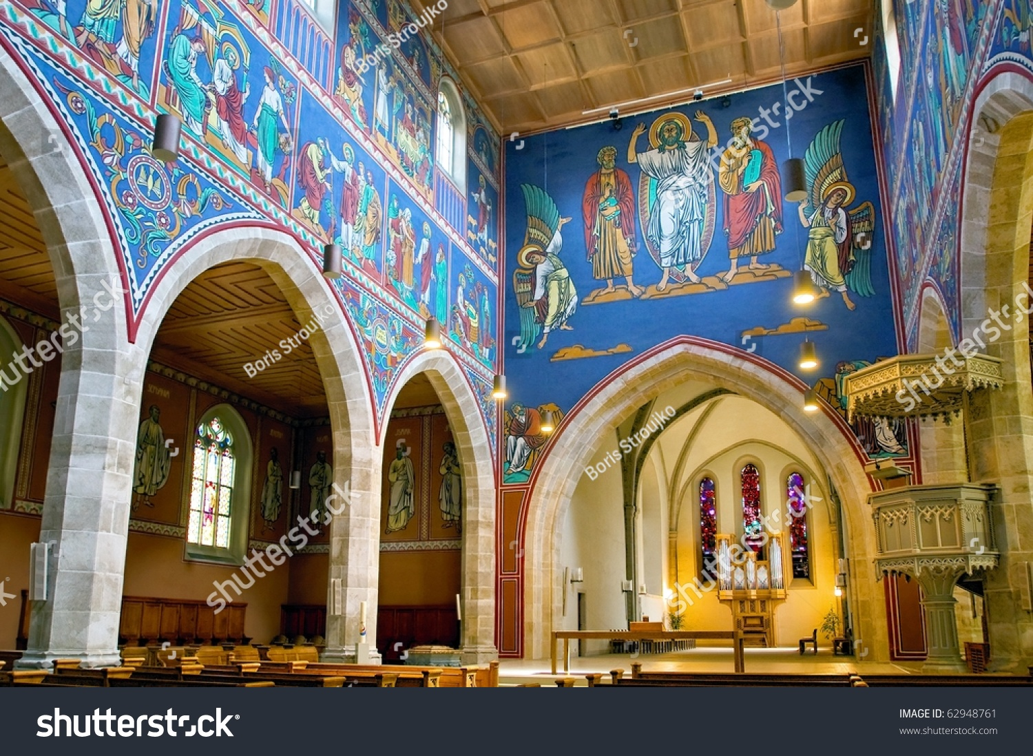 in the romanesque church the interior Romanesque architecture designs romanesque architecture period,  romanesque  romanesque architecture notice the high rounded arches inside  church.