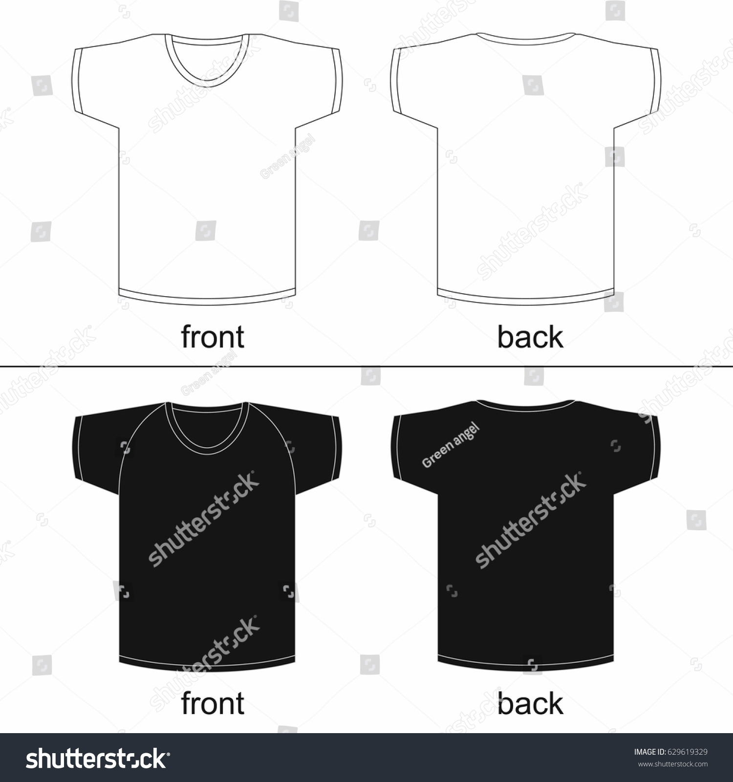 graphic relating to Free Printable T Shirt Template titled T Blouse Template Free of charge Printable AzÉ™rbaycan DillÉ™r Universiteti