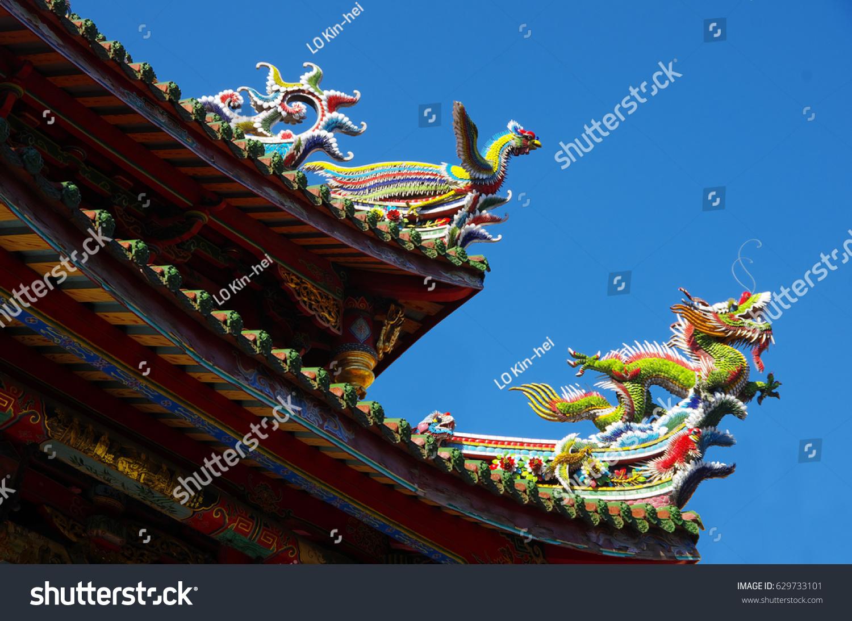 china xiamen nanputuo temple roof decoration ez canvas
