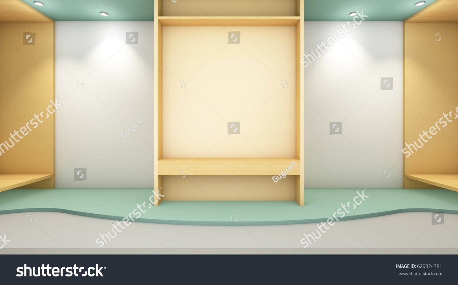 Awe Inspiring Royalty Free Stock Illustration Of Empty Modern Room Download Free Architecture Designs Grimeyleaguecom