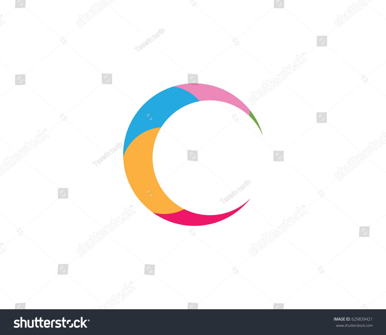 C circle business name logo stock vector 629839421 shutterstock c circle business name logo biocorpaavc Images