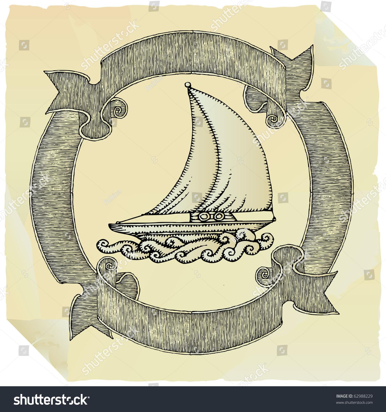 ship drawing paper - photo #35