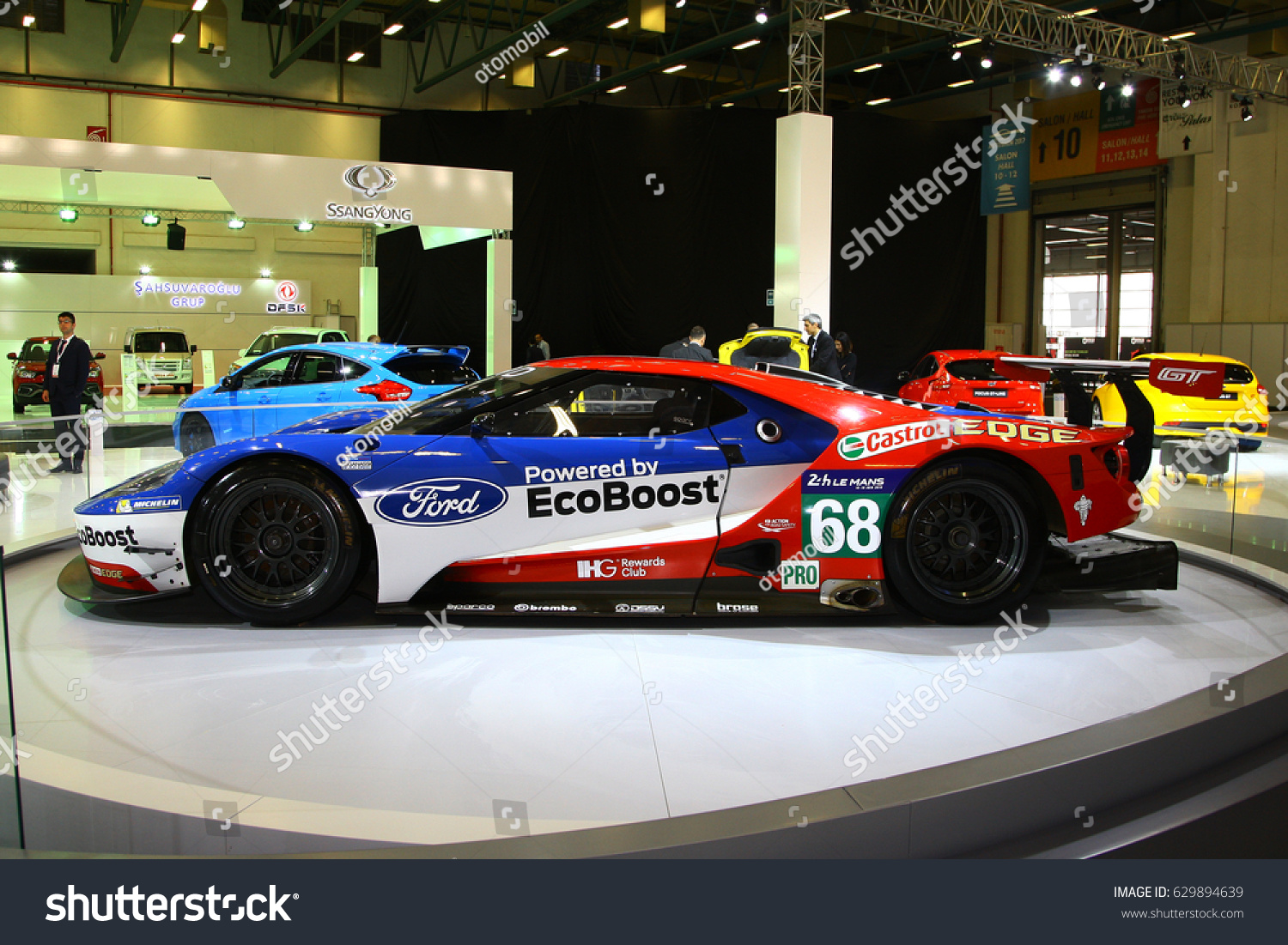 Istanbul Turkey April  Ford Gt Race Car For Wec And Le Mans