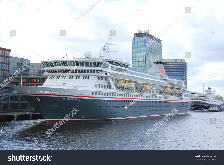 Amsterdam Netherlands April Th Balmoral Stock Photo - Balmoral cruise ship schedule