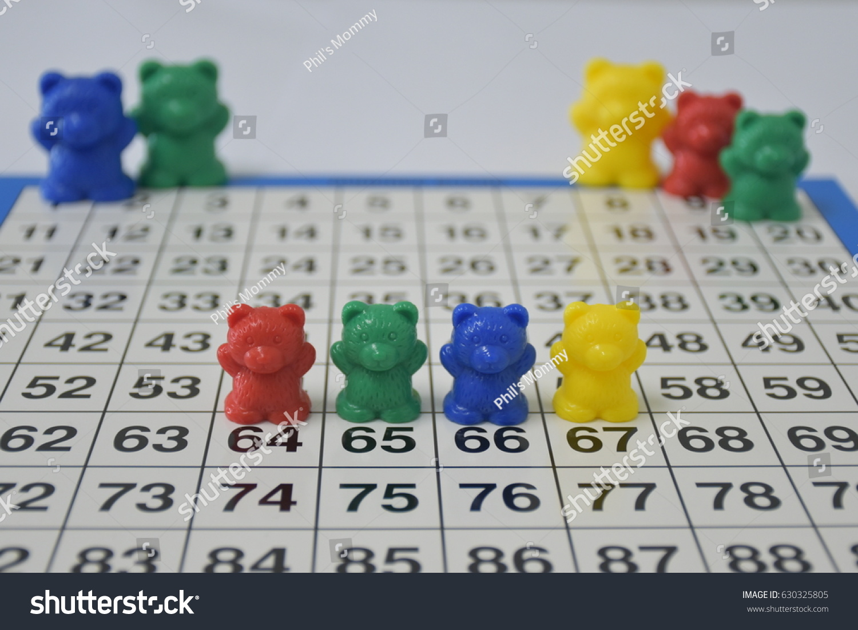 Counting Bears Math Aid Kindergarten Stock Photo (Royalty Free ...