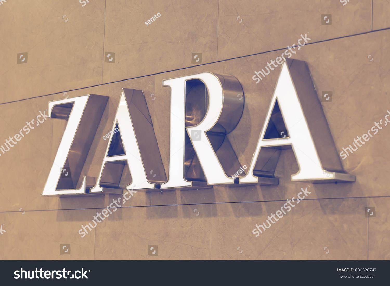 Belgrade Serbia April 1 2017 Zara Stock Photo Edit Now 630326747
