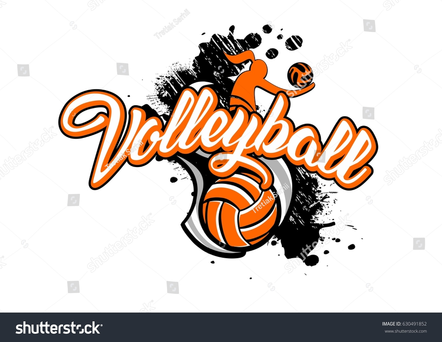 Abstract Grungy Background Volleyball Arrowhead Stock: Volleyball Backgrounds Sports Stock Illustration 630491852