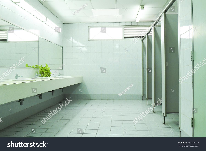 Public Toiletrestroomlavatorywater Closetwc White Basins Ceramic ...