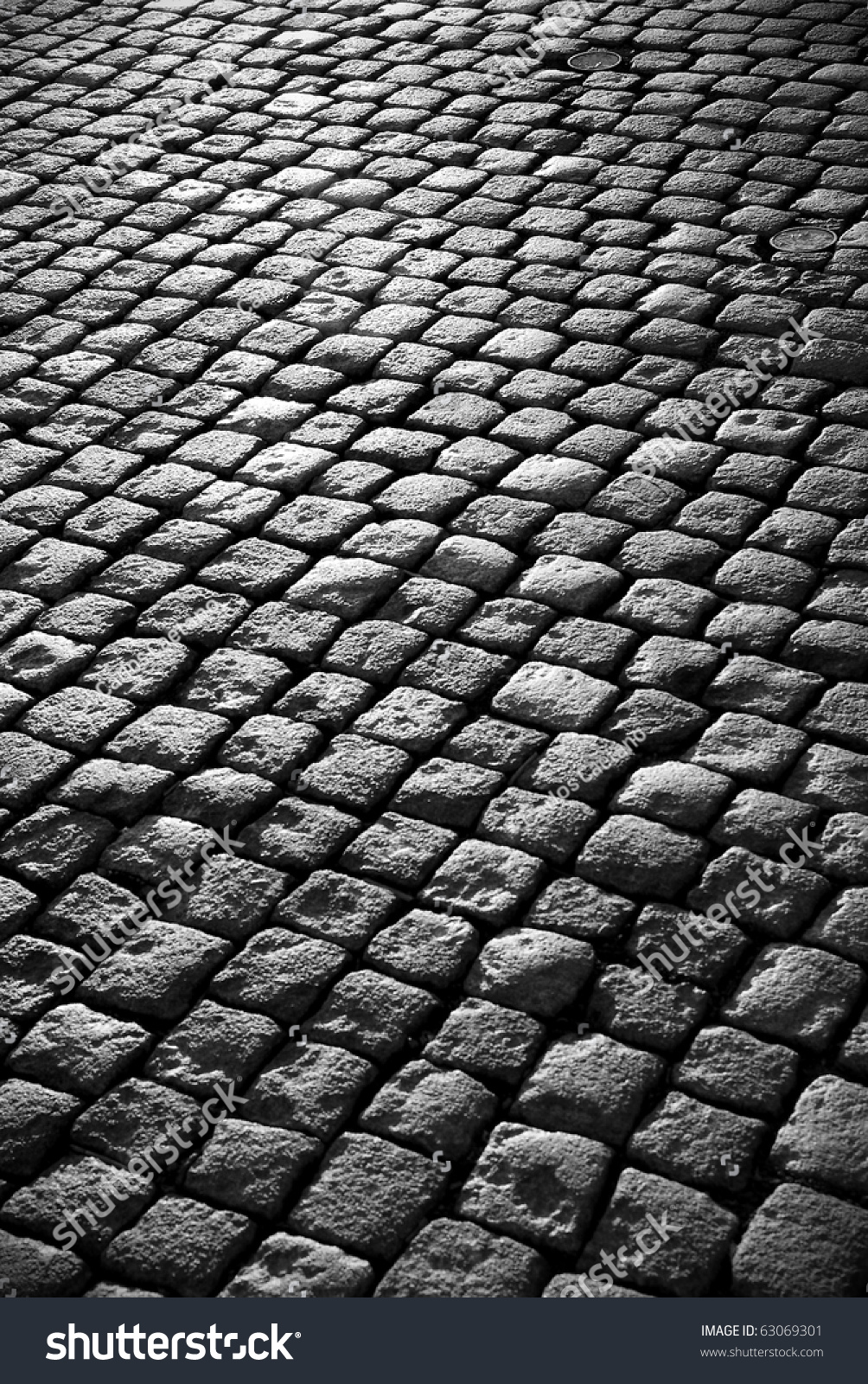 Old Cobblestone Road Background Imag...